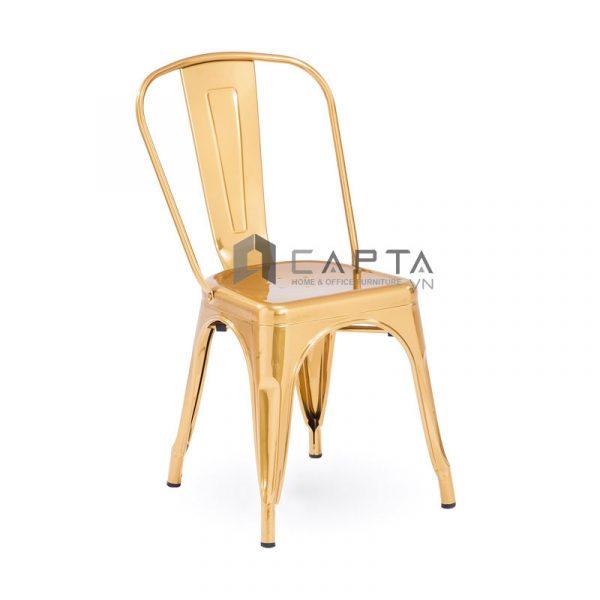 Ghế Tolix-T11 màu vàng kim