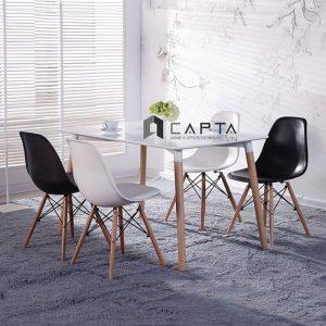 Bộ bàn ăn 4 ghế |capta.vn