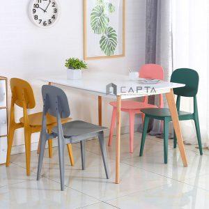 Bộ bàn ăn hiện đại cho căn hộ diện tích nhỏ