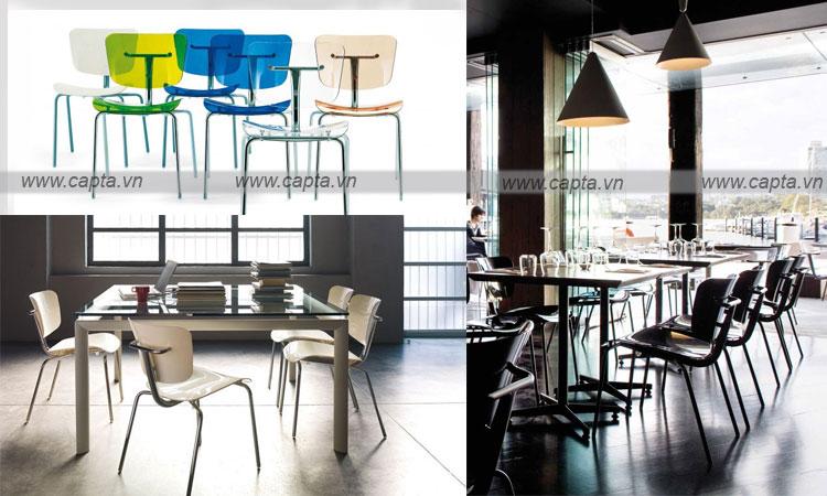 ghế nhà hàng ghế cafe cao cấp