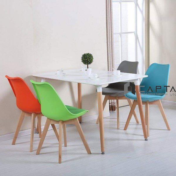 Bộ bàn ăn 4 ghế SD DAW12W / DAW-P