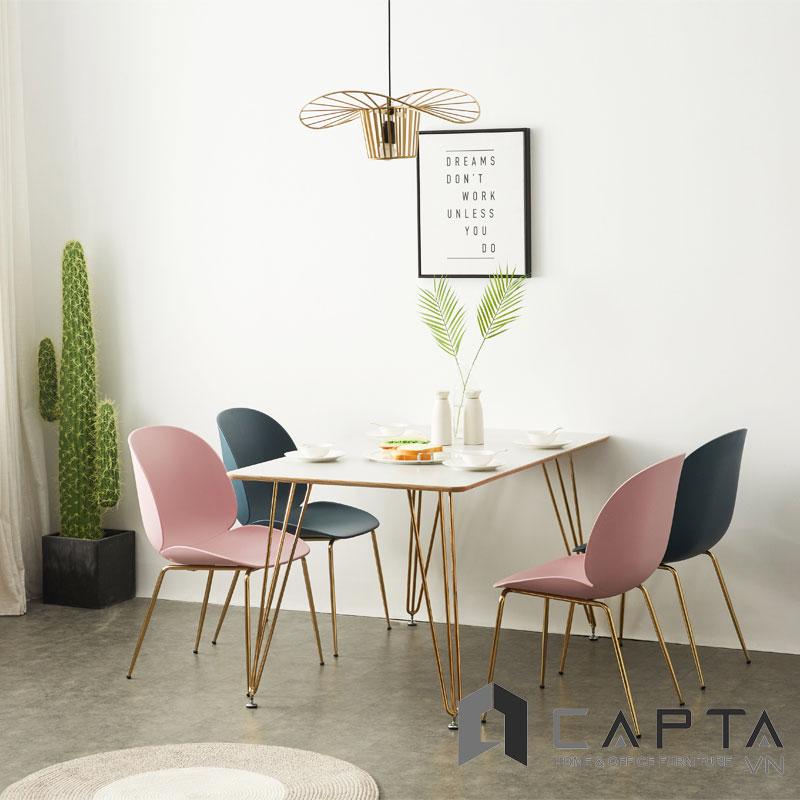 Bộ bàn phòng ăn SD HAIRPIN14 / BEETLE-P
