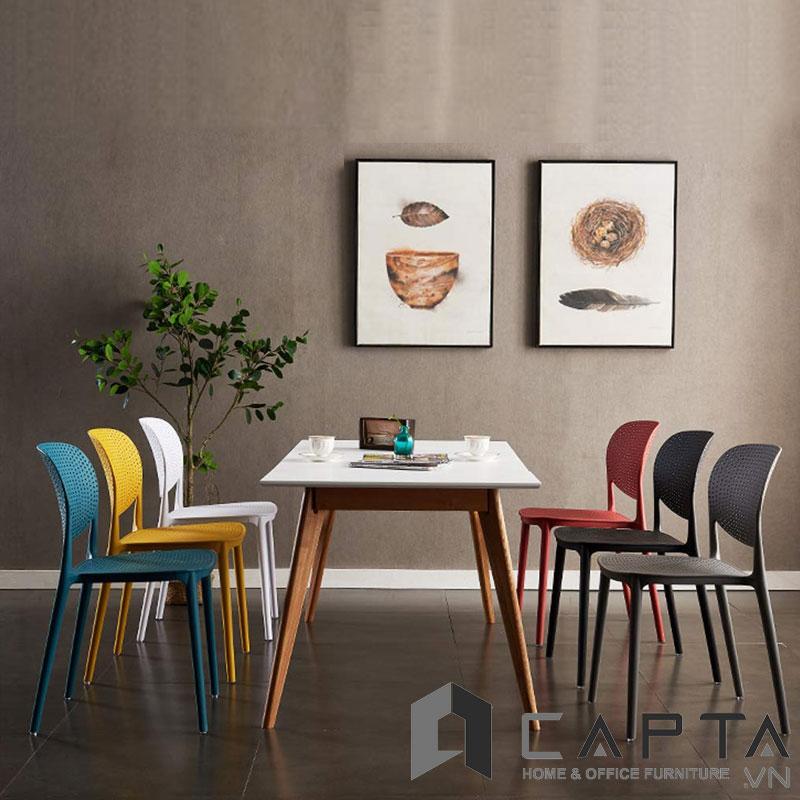 Bộ bàn ăn 6 ghế SD LEXI12 / CAT