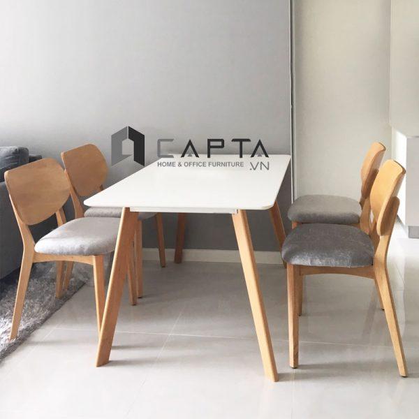 Bộ bàn ghế gỗ phòng ăn SD LEXI12 / PLC-F