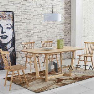 Bộ bàn gỗ phòng ăn SD CONCORDE-16W / PINNSTOL - CAPTA.VN