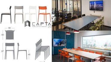 Ghế Italy dùng cho văn phòng Co-working space