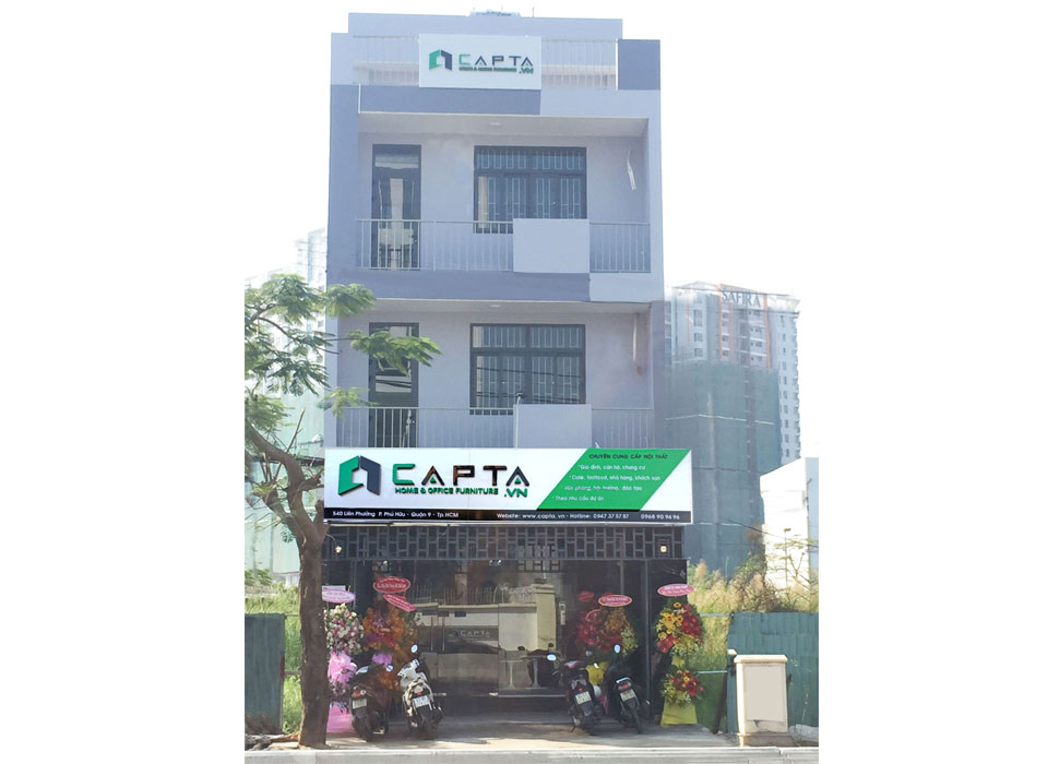CAPTA Furniture - showroom Quận 9,HCM