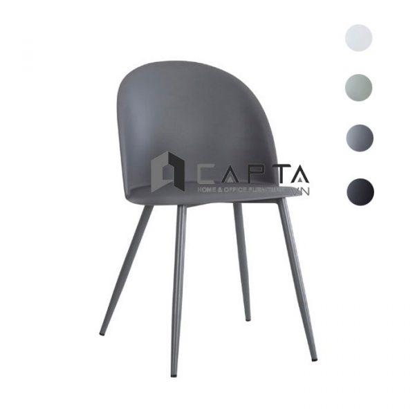 Ghế phòng ăn hiện đạiMARIO-S nhập khẩu màu xám