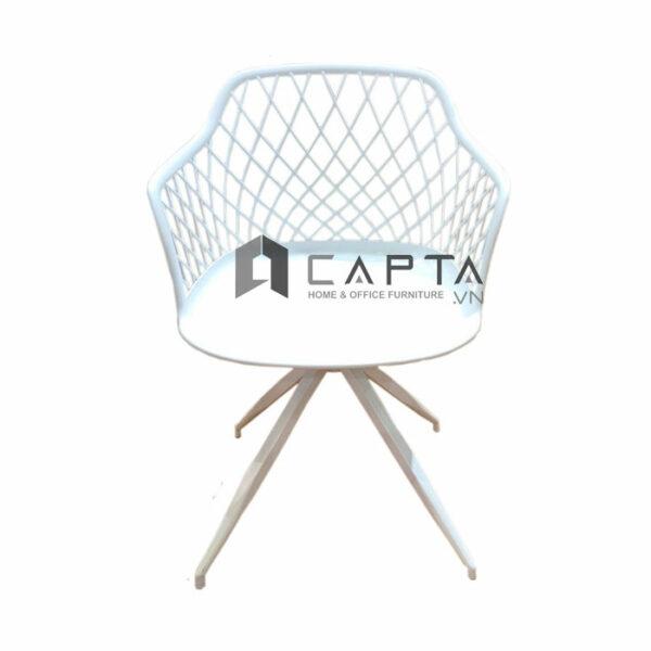 Ghế thân nhựa MESH A-S xoay 360 độ chân sắt sơn tĩnh điện