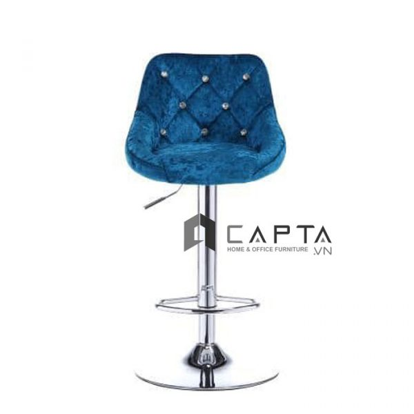Ghế quầy bar bọc vải nhung CB2259-F