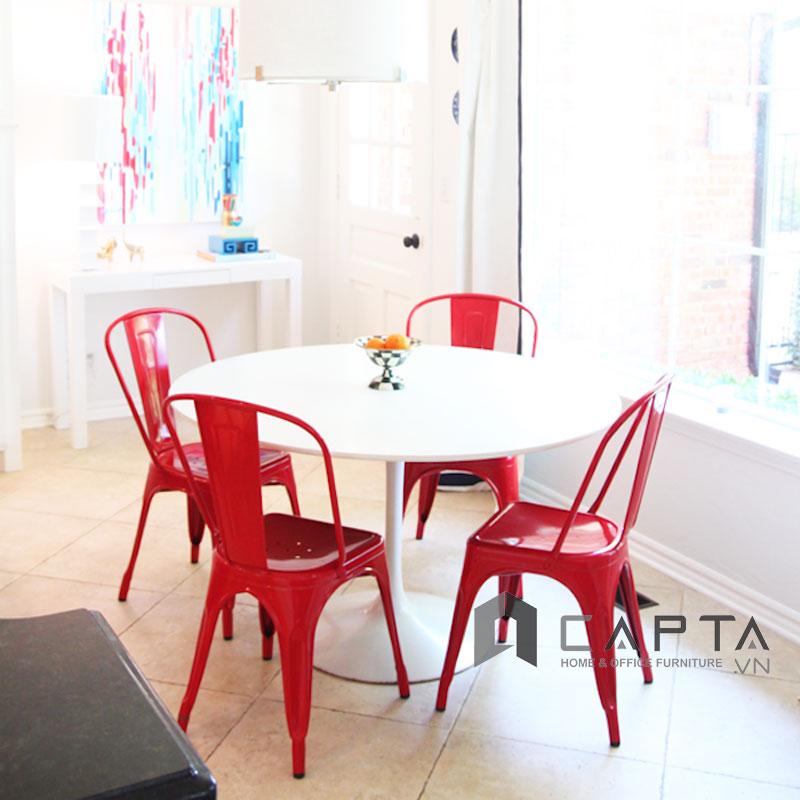 Bộ bàn tiếp khách 4 ghế Tolix giá rẻ