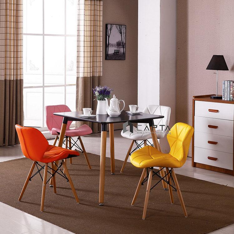 Bộ bàn tiếp khách mặt gỗ vuông