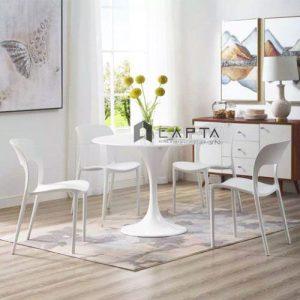 Bộ bàn tiếp khách 4 ghế nhựa đúc giá rẻ