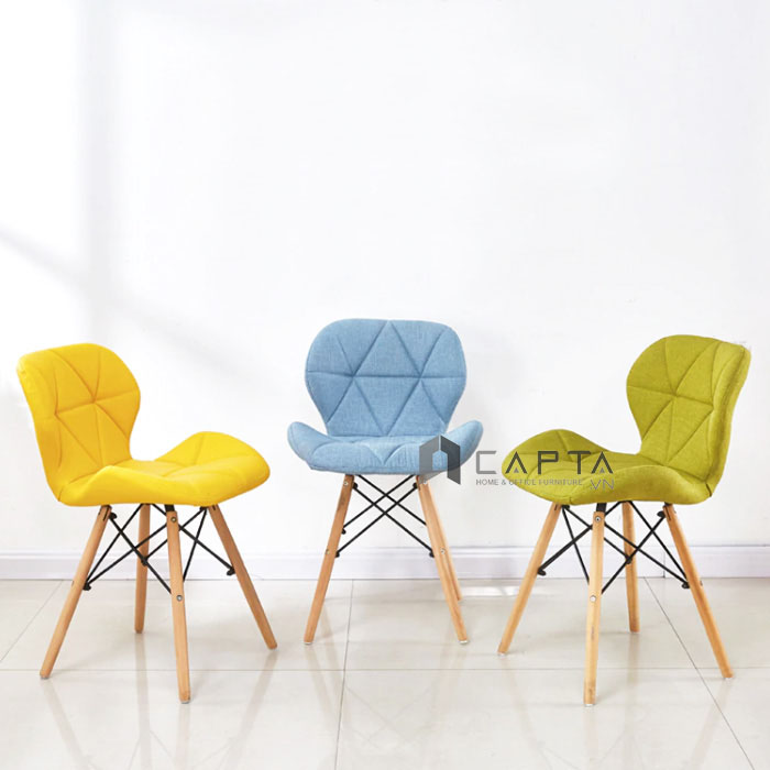 Ghế ăn bọc vải hiện đại