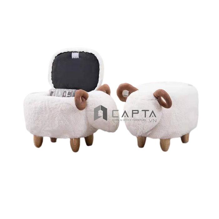Ghế đôn sofa hình cừu