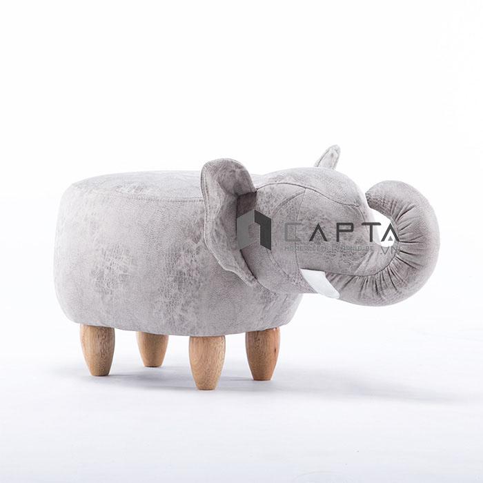 Ghế đôn sofa hình thú con voi