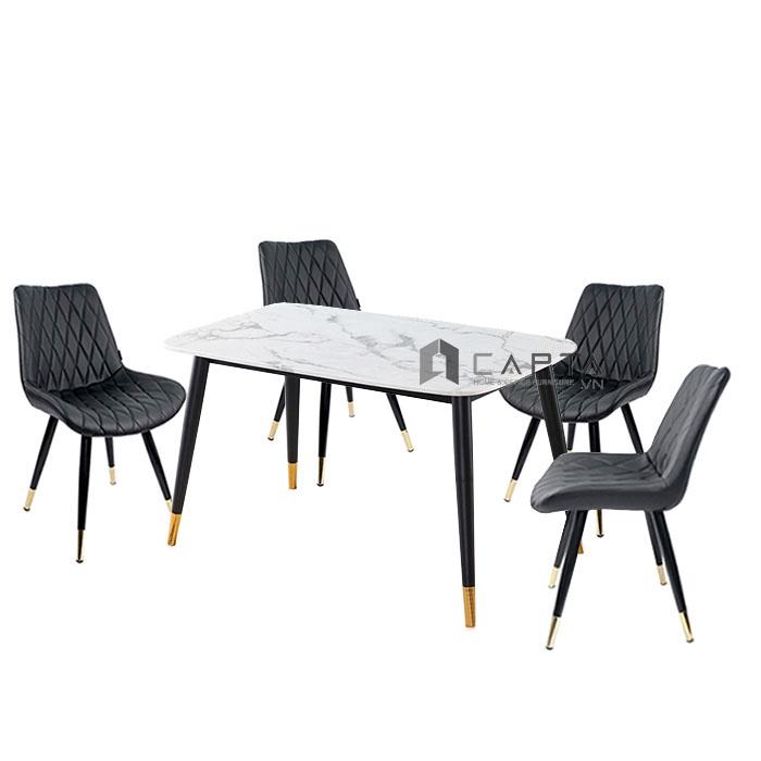 Bộ bàn phòng ăn cao cấp dành cho 4 người