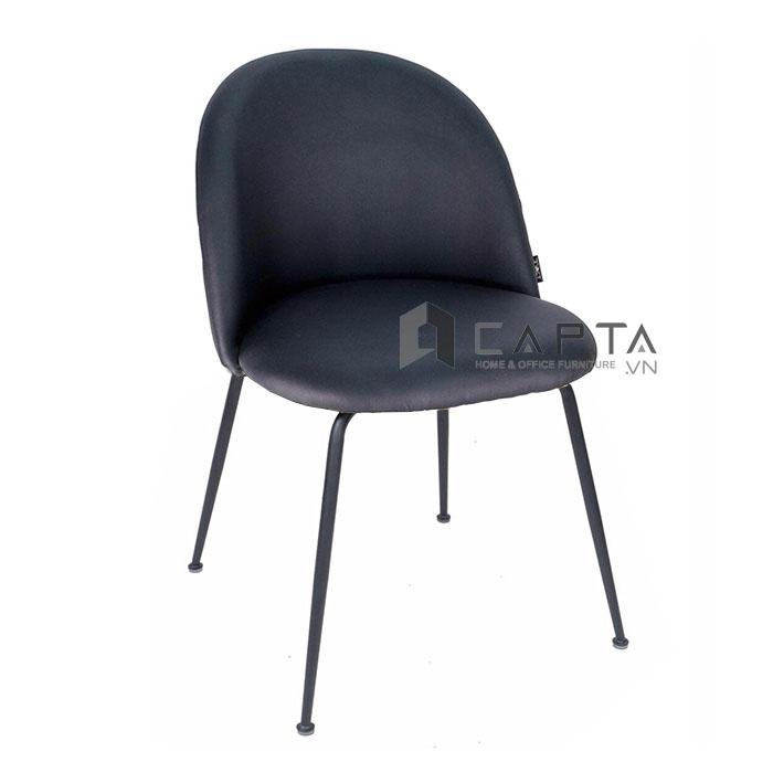 Ghế ăn có nệm PVC chân sắt Velvet