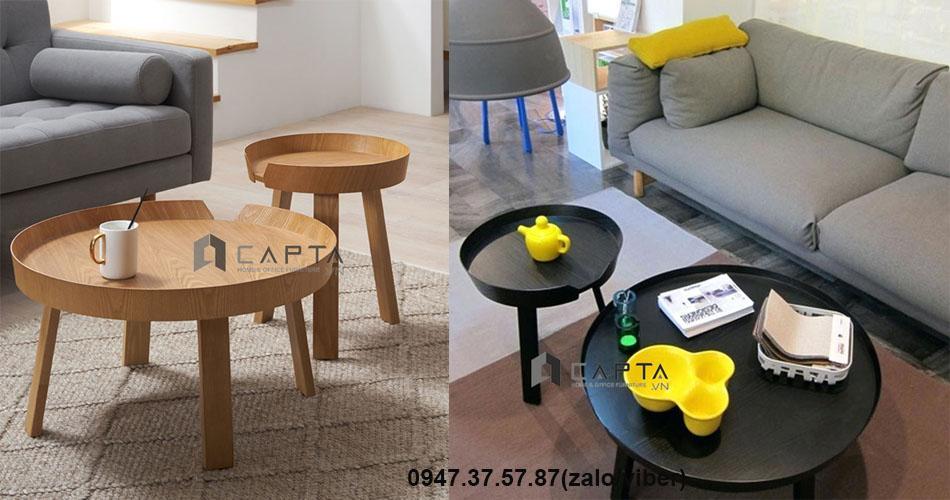 TS MUUTO –CPL - Bàn sofa cặp đôi nhập khẩu giá rẻ tại TpHCM