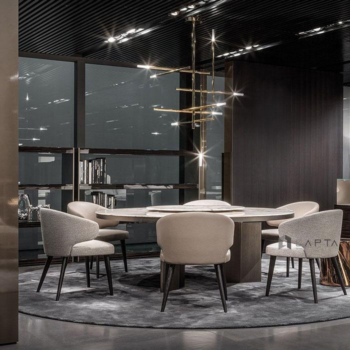 Ghế ăn nhà hàng khách sạn cao cấp Astro Arm