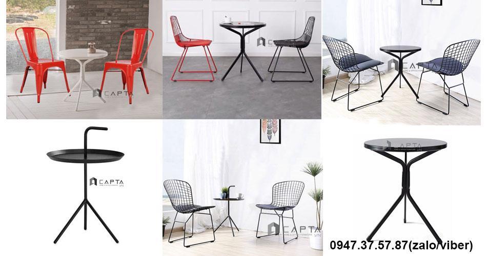 Bộ bàn ghế ngoài trời đẹp nhập khẩu giá rẻ ở HCM