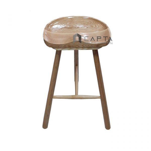 Ghế quầy bar gỗ tự nhiên