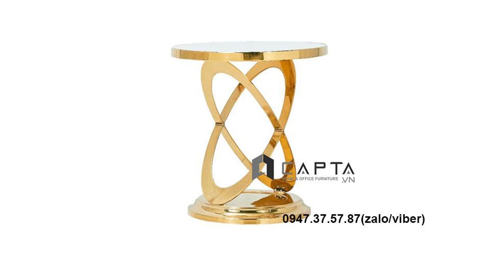 Bàn trà mặt kính sang trọng nhập khẩu giá rẻ tại TpHCM