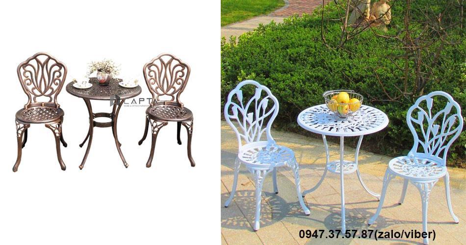 Bộ bàn ghế outdoor đẹp