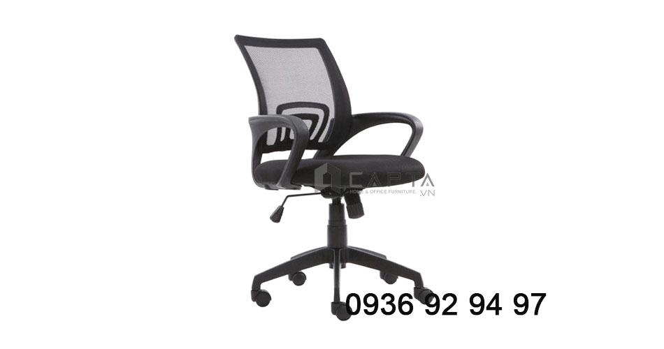 Nơi bán ghế xoay nhân viên văn phòng lưng lưới giá rẻ tại HCM