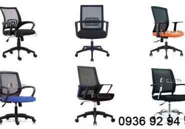 Nơi bán ghế xoay nhân viên văn phòng lưng lưới giá rẻ tại HCM 4