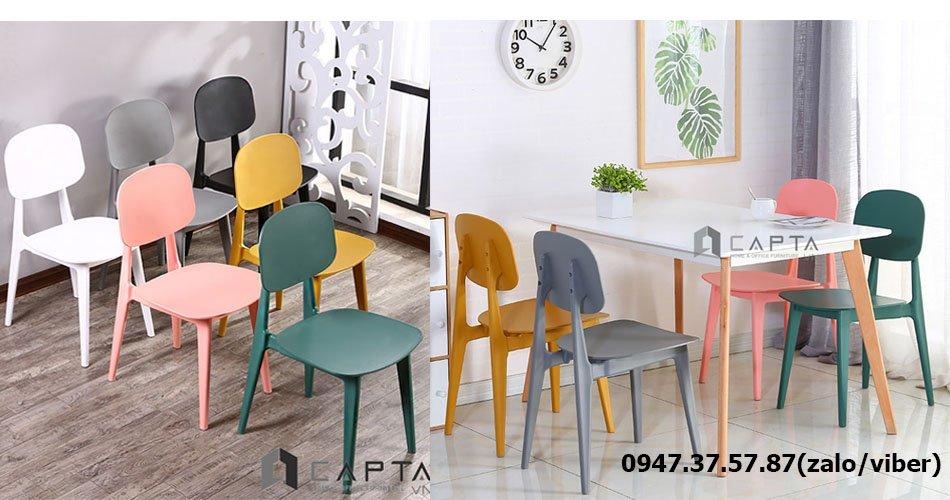 SD LEXI12 / BUNNY bộ bàn ăn gỗ hiện đại giá rẻ dành cho 4 - 6 người tại HCM