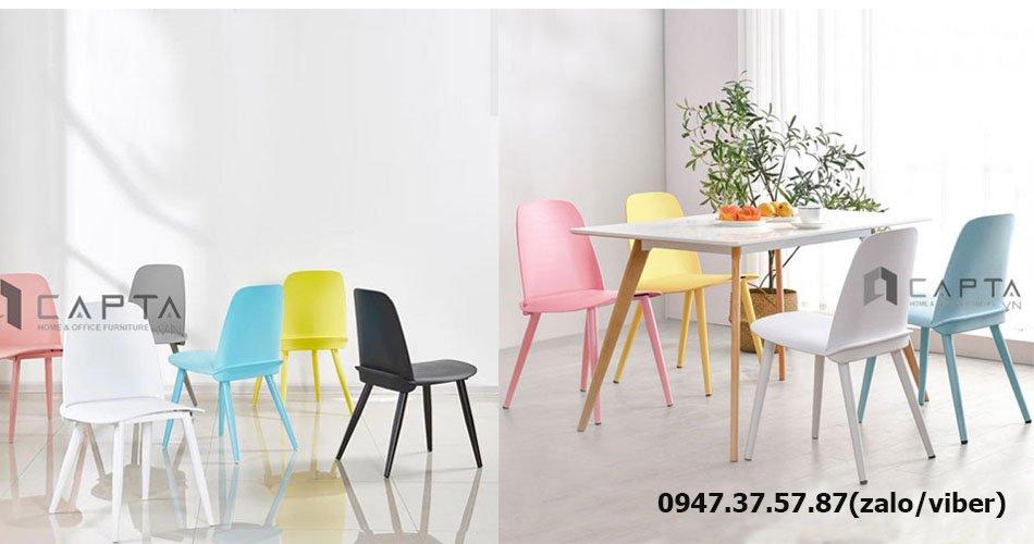 SD LEXI12 / NERD bộ bàn ăn gỗ hiện đại giá rẻ dành cho 4 - 6 người tại HCM