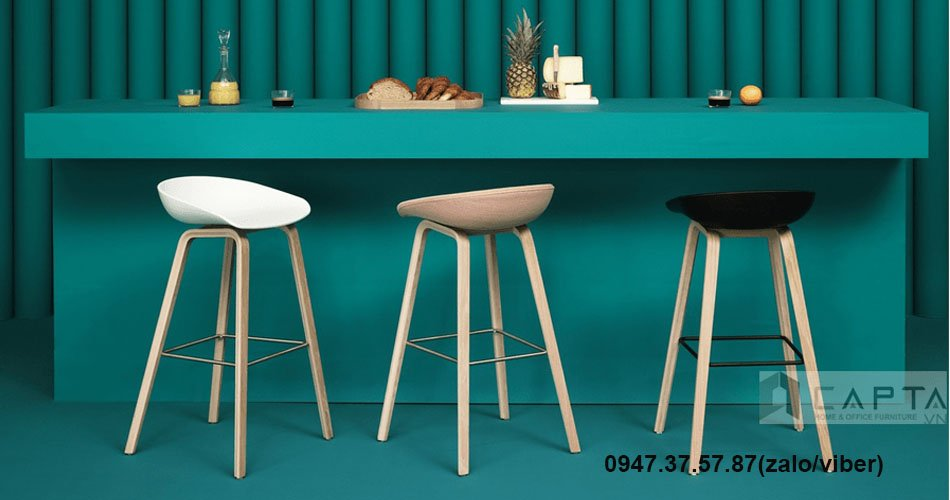 CB HAY-1 Những mẫu ghế đảo bếp cố định 65 cm sang trọng nhập khẩu được yêu thích ở TpHCM