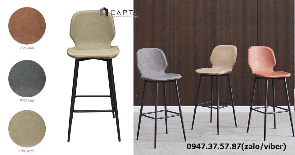 CB2150-65P Những mẫu ghế đảo bếp cố định 65 cm sang trọng nhập khẩu được yêu thích ở TpHCM