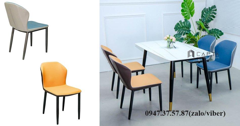 Bộ bàn ghế ăn 1m4 dành cho chung cư căn hộ 4 người giá rẻ