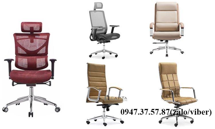 Top mẫu ghế văn phòng cao cấp phù hợp làm việc tại nhà