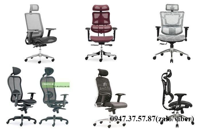 Mách bạn những mẫu ghế làm việc chống đau lưng hiệu quả