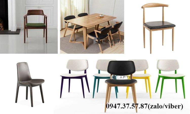 Những mẫu ghế gỗ có nệm làm việc tại nhà