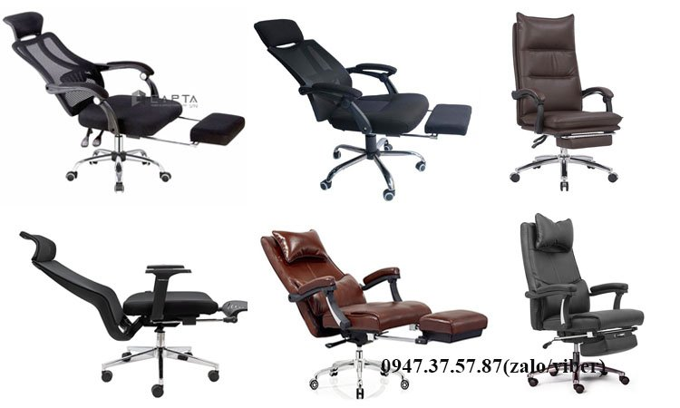 Review 5 mẫu ghế làm việc có gác chân được yêu thích hiện nay