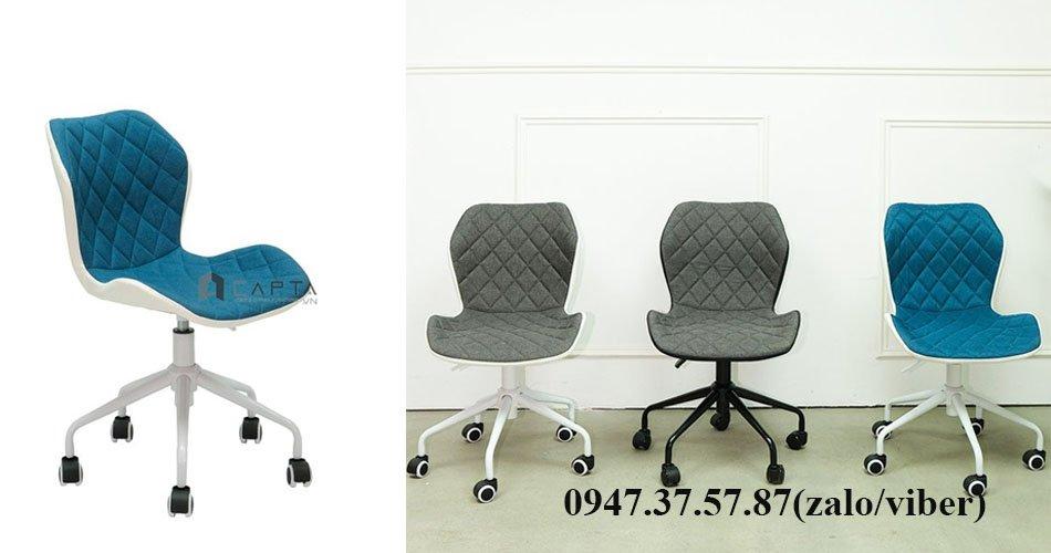Ghế ngồi học bài hiện đại nệm vải giá rẻ CE1001-F