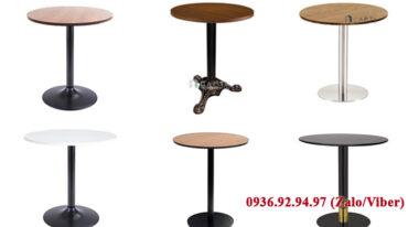 Các mẫu bàn cafe tròn bán chạy nhất hiện nay